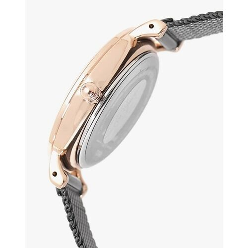 Daniel Klein Women Black Textured Analogue Watch DK12058-3