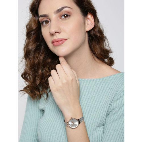 Daniel Klein Fiord Women Silver-Toned Analogue Watch DK12046-4