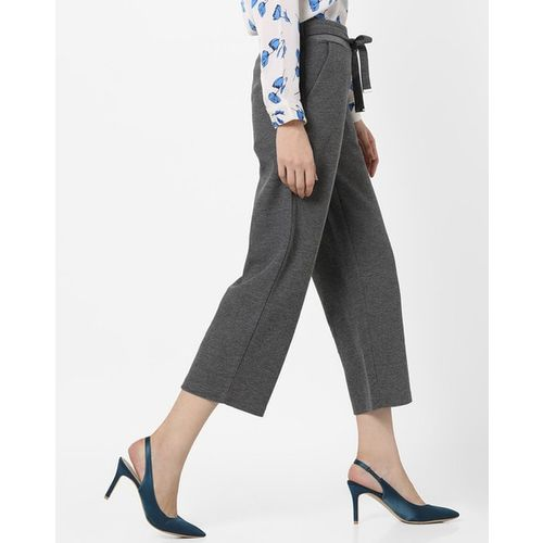 PROJECT EVE WESTERN WEAR Knitted Pants with Waist Tie-Up