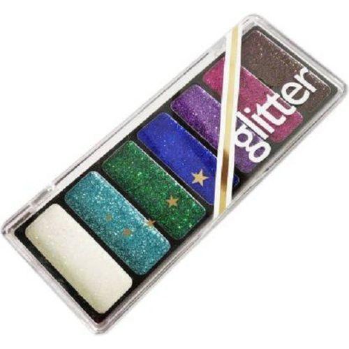 GLOWY collection glitter eyeshadow palette 11.26 g(MULTI)