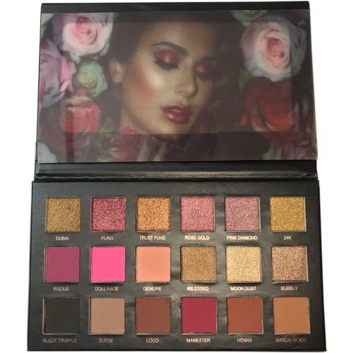 VERGE Rose Gold Eyeshadow Palette 16.6 g(Gold)