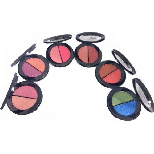 ADJD DOUBLE SHADE LONG LASTING SHIMMER EYE SHADOW COMBO 30 ml(MULTICOLOR)