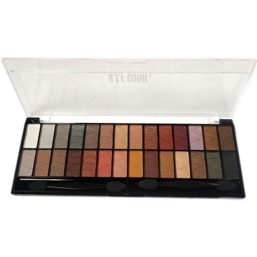 s.f.r color 28 Color Eyeshadow palette-01 28.8 g(Multicolor)