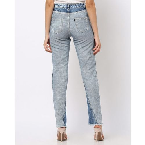 Freakins High-Waist Anti-Mom Fit Jeans