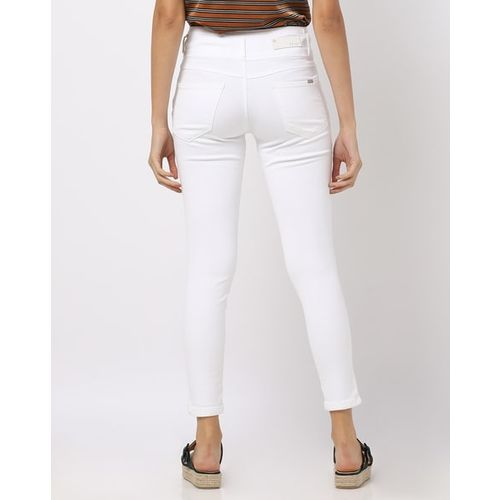 KRAUS Mid-Rise Ankle-Length Skinny Jeans
