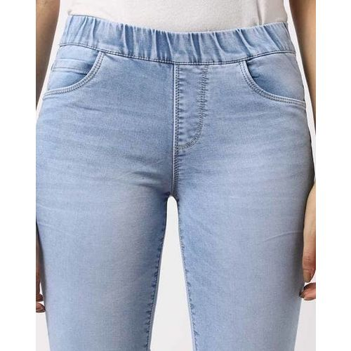 KRAUS Mid-Rise Lightly Washed Jeggings