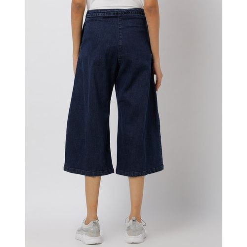 Freakins Flared Culottes with Single Slit