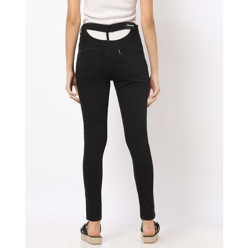 Freakins Skinny Jeans with Back Cut-Out