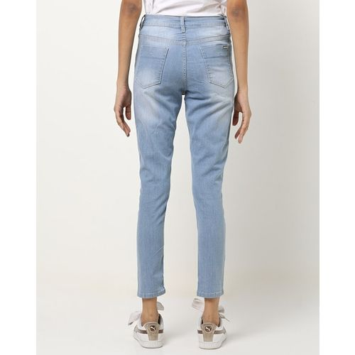 PROJECT EVE WESTERN WEAR High-Rise Washed Skinny Jeans