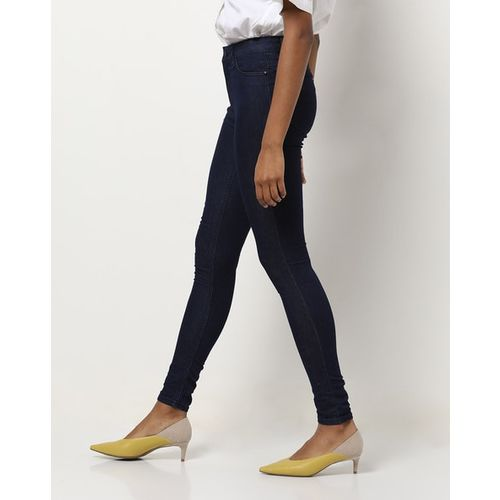 PROJECT EVE WESTERN WEAR Mid-Rise Ankle-Length Skinny Jeans