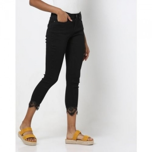 DNMX Jeggings with Eyelash Lace Hems