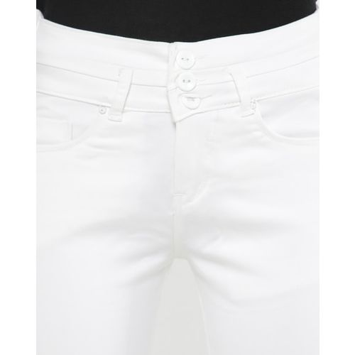 Devis High-Rise Ankle-Length Skinny Jeans with Pockets