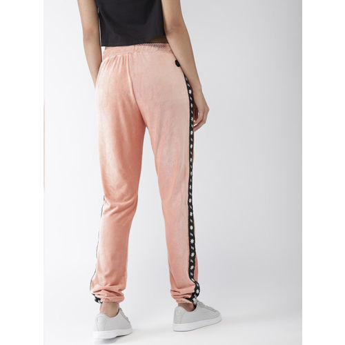 FOREVER 21 Kendall + Kylie Women Pink Regular Fit Solid Joggers