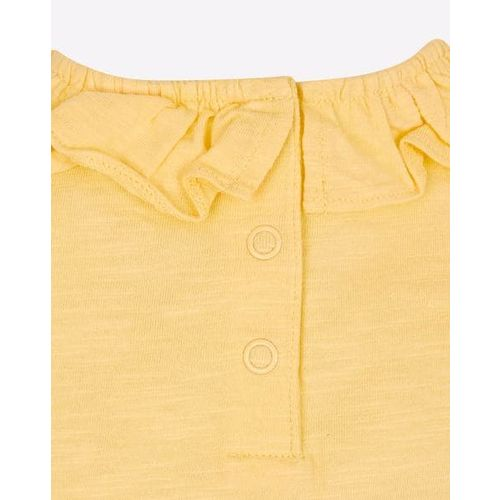 Mothercare Pack of 2 Tops with Ruffled Panel