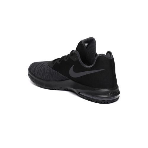 Nike Men Black AIR MAX INFURIATE III LOW Basketball Shoes