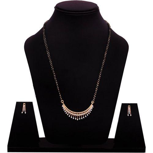 DARSHINI DESIGNS Alloy Jewel Set(Gold)