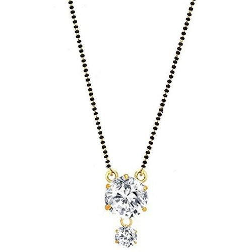 Darshini Designs Traditional gold plated daily wear mangalsutra for women Alloy Mangalsutra
