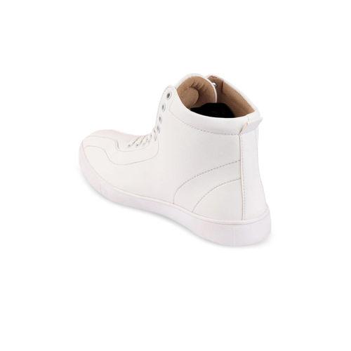 FAUSTO Men White Sneakers