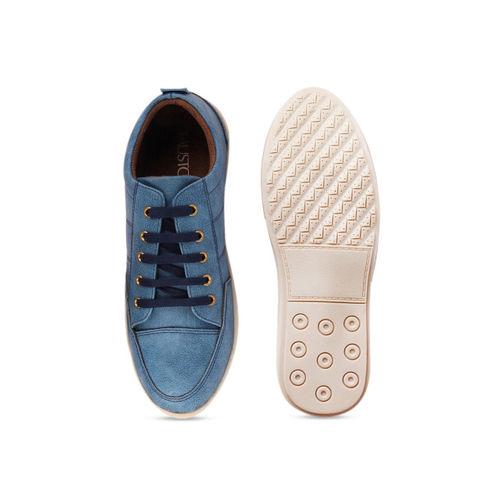 FAUSTO Men Blue Sneakers