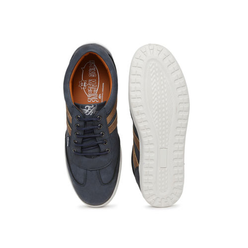 Flying Machine Men Blue William Sneakers