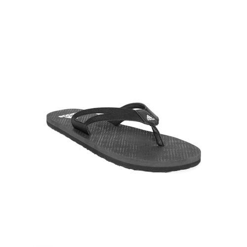 ADIDAS Men Black OZOR II Solid Thong Flip-Flops