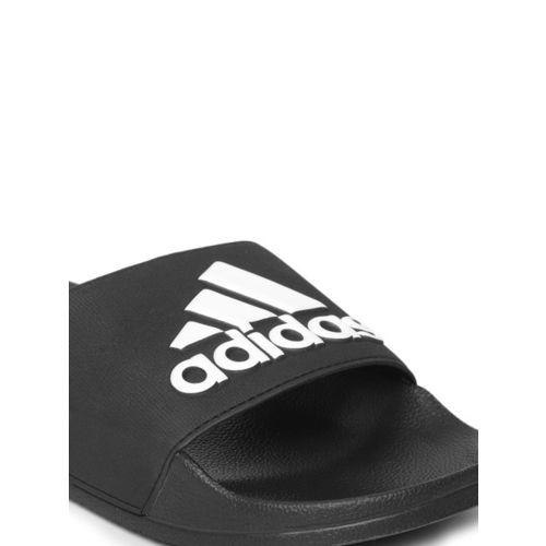 ADIDAS Men Black Printed Sliders