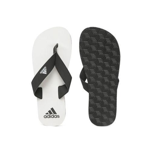 ADIDAS Men Black & Grey Eezay Maxout Flip-Flops