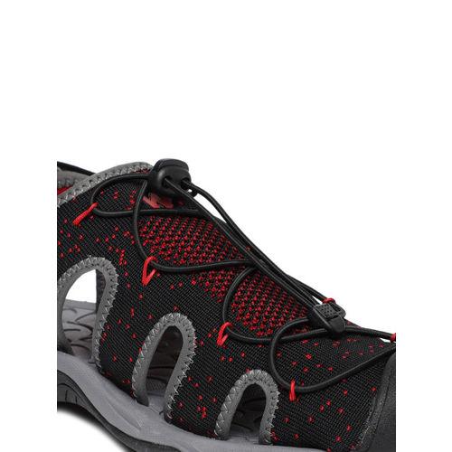 Wildcraft Men Black & Red Triton CTS Sports Sandals
