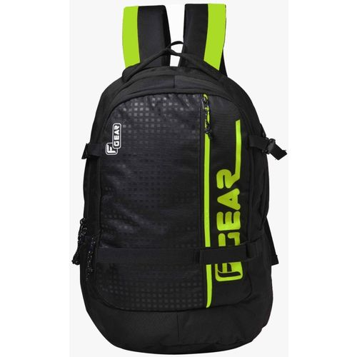 F Gear Boshida with Rain Cover 31 L Laptop Backpack(Black)