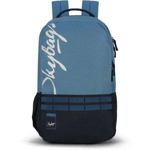 Skybags XCIDE 01 (E) SCHOOL BAG SKY BLUE 21 L Backpack(Blue)
