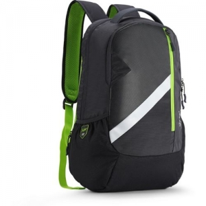 Skybags TEKIE 06 SCHOOL BAG (E) GREY 30 L Laptop Backpack(Black, Green)