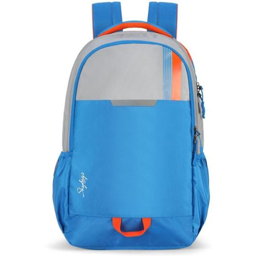 Skybags Bag 27 L Laptop Backpack(Blue, Grey)