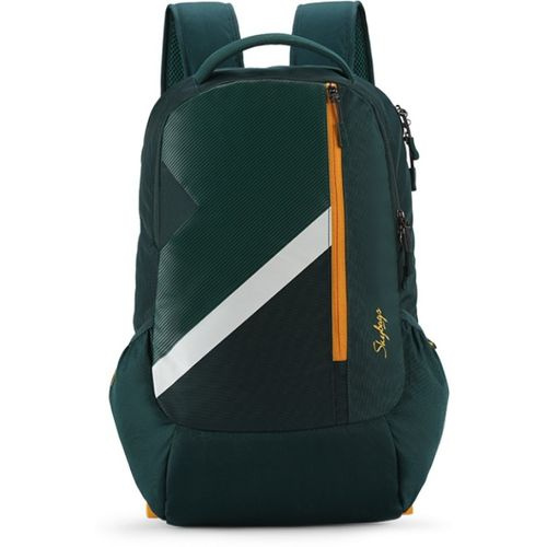 Skybags TEKIE 06 SCHOOL BAG (E) DARK GREEN 30 L Laptop Backpack(Green)