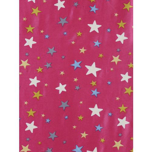 Cortina Pink Set of 2 Glow In the Dark Long Door Curtains