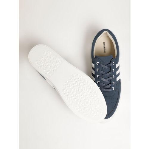 LOCOMOTIVE Men Navy Blue Sneakers