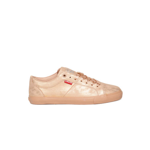 Levis Men Rose Gold WOODS Sneakers