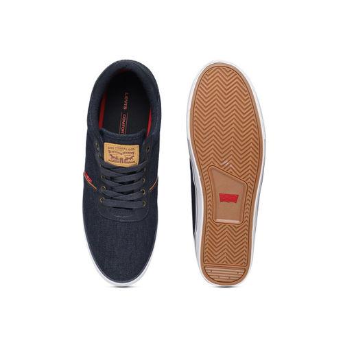 Levis Men Navy Blue AIDEN DENIM Sneakers