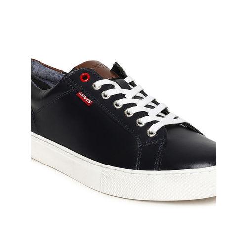 Levis Men Navy Blue Prellude Sneakers
