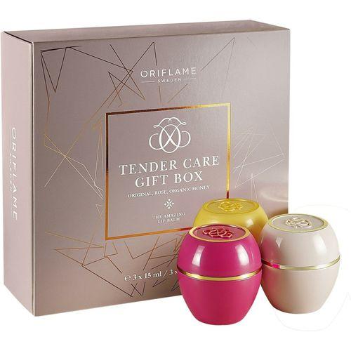 Oriflame TENDER CARE GIFT BOX Take of 3 Original ,Rose ,Organic Honey(Pack of: 3, 50 g)