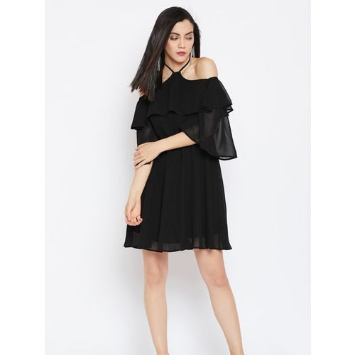 Femella Solid Dress