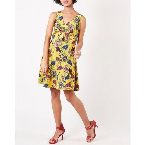 Oxolloxo Floral Print Skater Dress