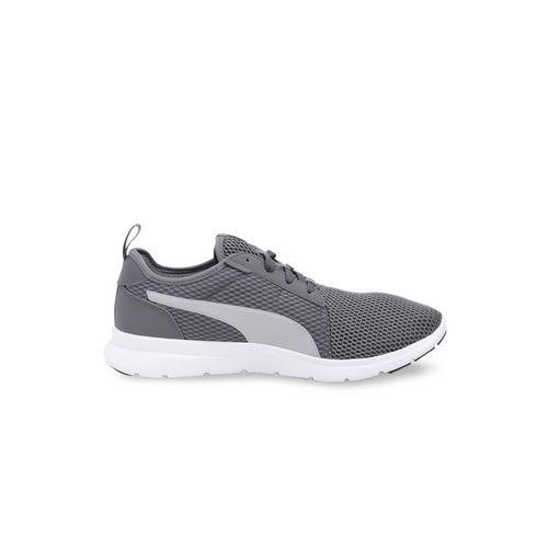 Puma Unisex Grey Mesh Running Shoes