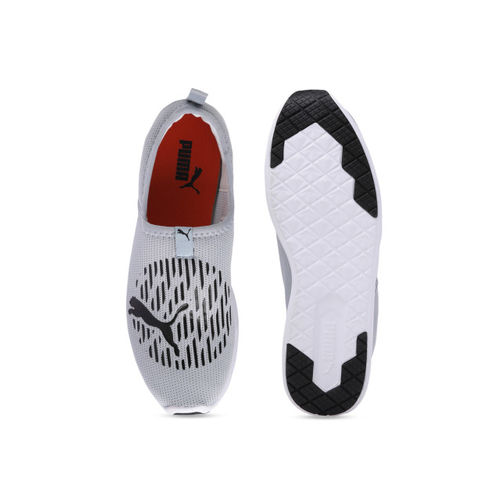 Puma Men Grey Mesh Running Shoes