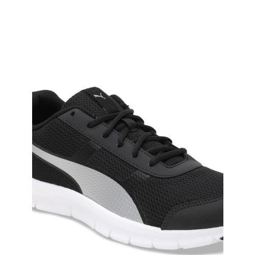 Puma Men Black Dash IDP Mesh Running Shoes