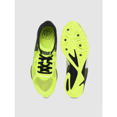 Puma Men Fluorescent Green Evospeed Haraka 6 Running Shoes