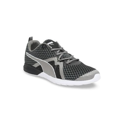 Puma Men Black Mesh Vigor X IDP Running Sports Shoes