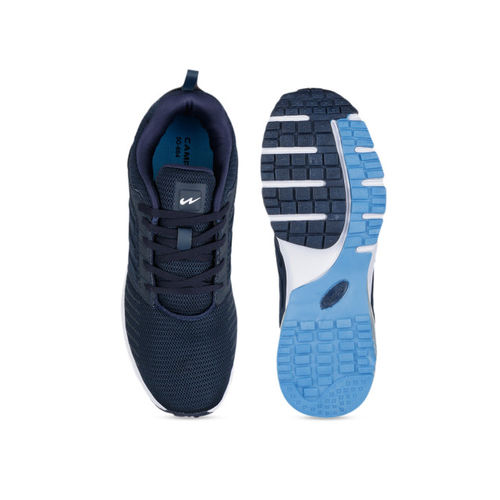 Campus Men Navy Blue TRIGO Mesh Running Shoes