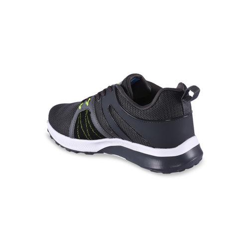 Campus Men Grey Mesh Running Shoes