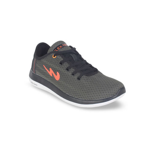 Campus Men Olive Green Running Shoes