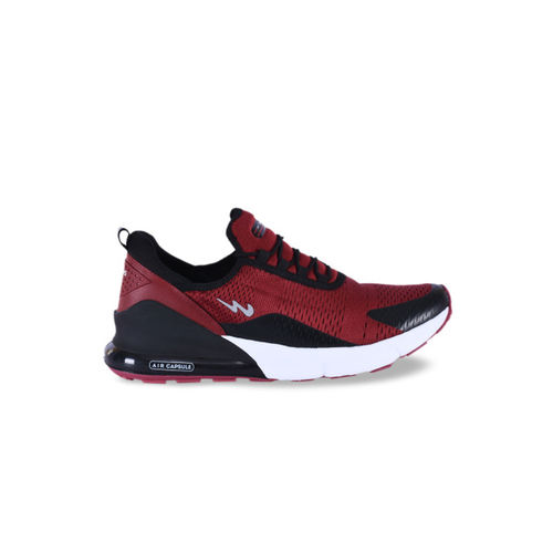 Campus Men Red Running Shoes